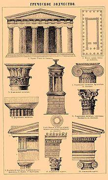 Древнегреческие храмы править