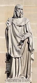 Gregory of Tours Gallo-Roman historian and Bishop of Tours
