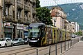 "Grenoble Tram Citadis ""Métrovélo"".jpg"