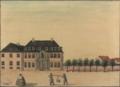 Grev Gyldensteens gård efter J. Rach og Eegberg i Dronningens Tværgade, 1749.png