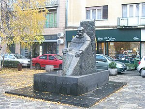 Grgo Martić - Monument in Zagreb