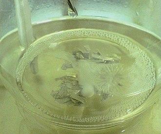 Grignard reagent - Image: Grignard reaction experiment 03