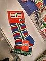 Groninger flag socks, Groningen (2018).jpg