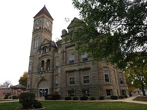 Grundy County, Iowa - Image: Grundy County Courthouse