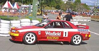 1992 Tooheys 1000 - The winning Skaife/Richards Nissan GT-R
