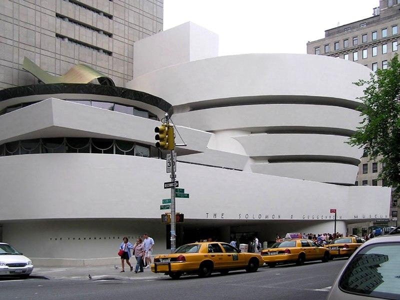 Guggenheim museum exterior retouched