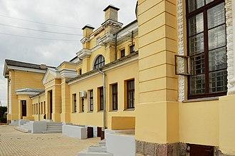 Gulbene Municipality - Image: Gulbene raudteejaam 11