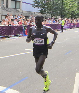 Guor Marial (Independent Olympic Athlete) - London 2012 Mens Marathon.jpg