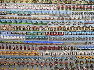 Refrigerator magnet - retail display of magnets
