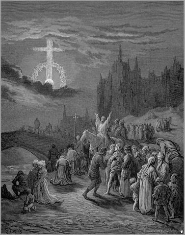 Gustave Doré (1832-1883), Crusades Celestial Phenomena on Wikimedia Commons