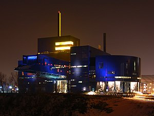 Theatre in Minnesota - Image: Guthrie Theater night 2007 03 12