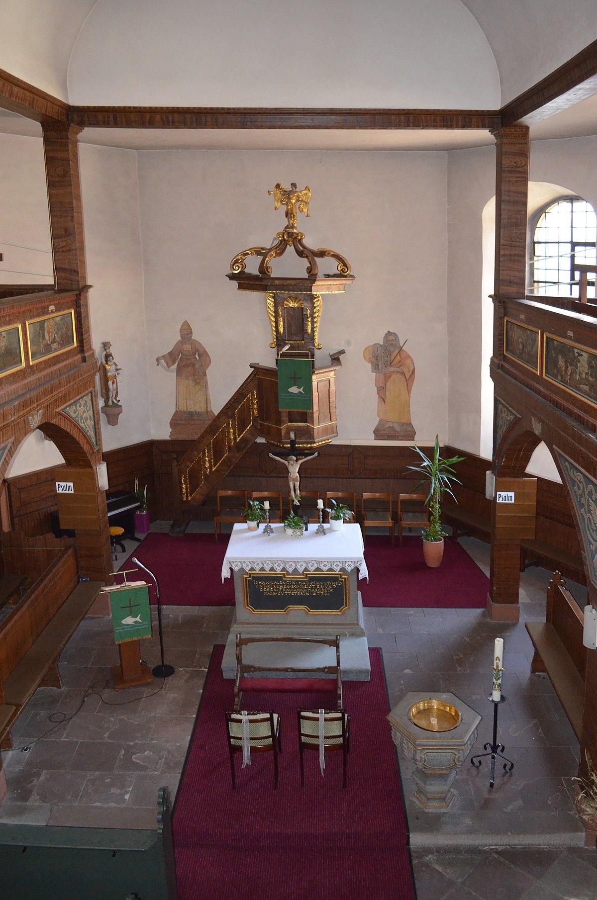 Empore In Der Kirche