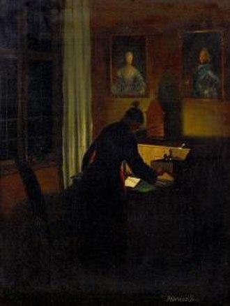 Johan Hörner - Nighttime Interior