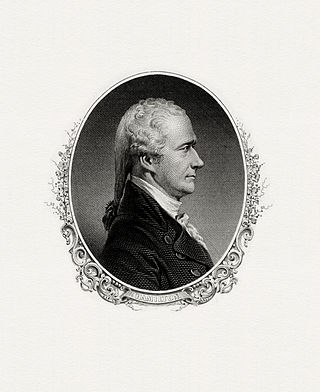 A Bureau of Engraving and Printing portrait of Hamilton as Secretary of the Treasury