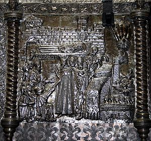 Chest of Saint Simeon - Image: HAZU 72 17 lipnja 2008