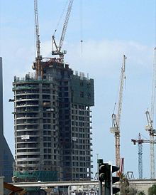 HHHR Tower Under Construction on 25 January 2008.jpg