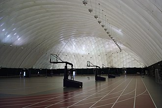 Hononegah Community High School - Image: HHS Dome Interior