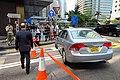 HK 中環 Central 雪廠街 Ice House Street 干諾道中 Connaught Road April 2018 IX2 Honda Civic carparking 02.jpg