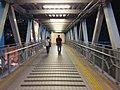 HK 西灣河 Sai Wan Ho night 興東邨 Hing Tung Estate Shopping Centre iron Shing On Street footbridge July 2019 SSG 01.jpg