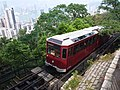 HK 香港 VP 維多利亞山頂 Victoria Peak Tram 白加道 Barker Road stop April 2020 SSG 07.jpg