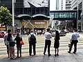 HK Central Pedder Street crossway 皇后大道 Queen's Road Central near Aon China Building July 2020 SS2.jpg