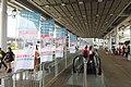 HK Shenzhen Bay Port Hong Kong side moving walkway n banner flag decoration rule max 120,000 HKD Sept 2018 IX2 01.jpg