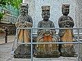 HK Sheung Wan 美輪街 Mee Lun Street stone sculptures Mar-2013.JPG
