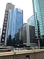 HK TST Kln Park footbridge view Canton Road China Hong Kong Centre Hugo Boss shop sign Nov-2015 DSC.JPG