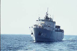Minelayer - Swedish minelayer Älvsborg (1974)