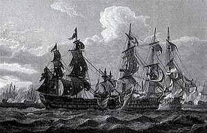 HMS Canada (1765) - Image: HMS Captain San Nicolas San Josef