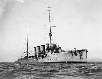 Tirpitz (pig) - Tirpitz's second home, HMS Glasgow