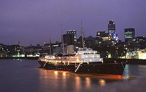 HMY Britannia - London, 1997