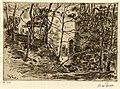 HUA-206542-Gezicht op de hermitage annex kapel een folly in het park van kasteel Drakenstein te Lage Vuursche gemeente Baarn met rechts een gedeelte van de vijve.jpg