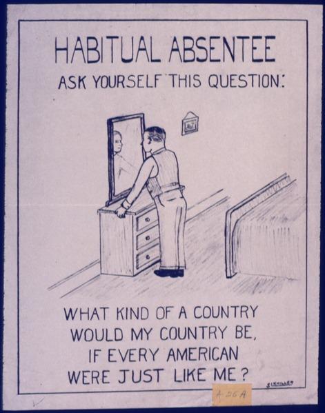 Habitual Absentee - NARA - 534650