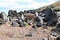Hachijo-Kojima Island Toriuchi district old stone small shrine.jpg