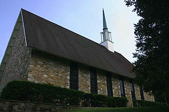 Goucher College - Image: Haebler Memorial Chapel