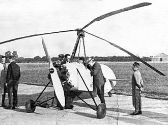 A.E. Clouston - Hafner AR.III (G-ADMV) at Heston, 1935