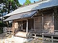 Haiden of Ise-oomikami shrine Shimonomiya 2.JPG