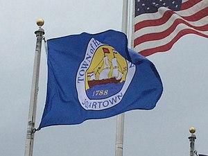 Halfmoon, New York - Image: Halfmoon NY flag