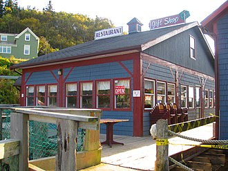 Hall's Harbour, Nova Scotia - Hall's Harbour restaurant