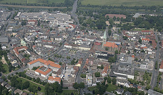 Hamm Place in North Rhine-Westphalia, Germany