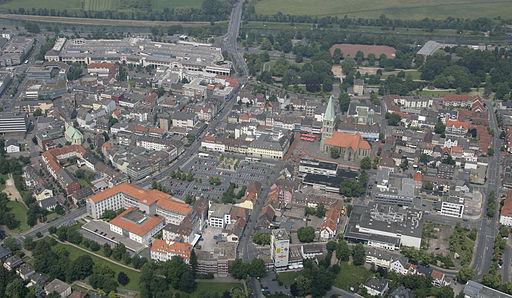 Hamm Luftbild Innenstadt 2007