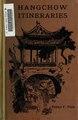 Hangchow itineraries (IA hangchowitinerar00fitc).pdf