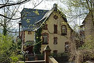 Photo of the House Hannah Arendt lived in in Marburg