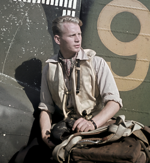 Hans Wind - Image: Hans Henrik Wind in Suulajärvi 1943