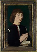 Hans Memling - Young Man at Prayer - WGA14850.jpg