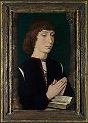 A Young Man at Prayer