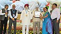 "Hardeep Singh Puri presenting the awards, at an event to mark the Swachh Bharat Diwas the 3rd anniversary of the launch of Swachh Bharat Mission and the conclusion of ""Swachhata hi Sewa"" fortnight, in New Delhi (2).jpg"