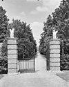 hardenbroek, kasteel, toegangshek - driebergen-rijsenburg - 20063908 - rce