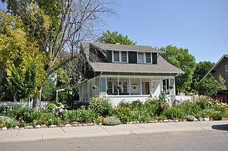 National Register of Historic Places listings in Big Horn County, Montana - Image: Hardin MT John Boyum House